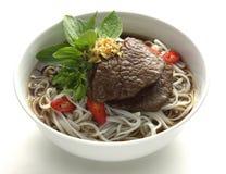 Sopa de macarronete tailandesa Imagens de Stock Royalty Free