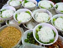 Sopa de macarronete vietnamiana Pho Foto de Stock Royalty Free