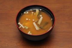 Sopa de Miso Imagens de Stock Royalty Free