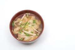 Sopa de Miso imagem de stock royalty free