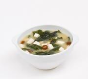 Sopa de Miso Foto de archivo libre de regalías