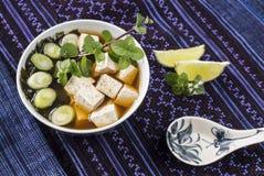 Sopa de Miso Imagens de Stock