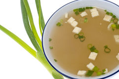 Sopa de Miso fresca Imagens de Stock Royalty Free