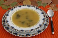Sopa de patata Fotografía de archivo libre de regalías