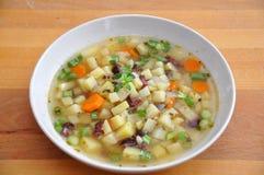 Sopa de patata Foto de archivo