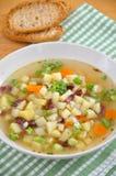 Sopa de patata Fotografía de archivo