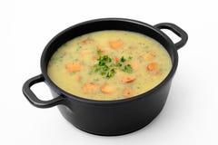 Sopa de patata imagen de archivo libre de regalías