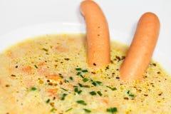 Sopa de patata foto de archivo libre de regalías