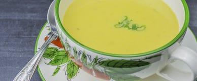 Sopa de patata dulce Fotografía de archivo libre de regalías