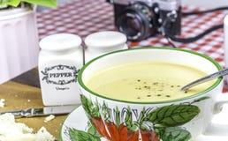 Sopa de patata dulce Fotos de archivo libres de regalías