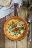 Sopa de peixe de peixes de Ballycotton Imagem de Stock Royalty Free