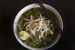 Sopa de Pho Fotos de Stock Royalty Free