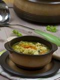 Sopa de pollo Imagen de archivo libre de regalías