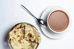 Sopa de pollo del curry Fotos de archivo libres de regalías