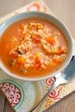 Sopa de pollo toscana Foto de archivo