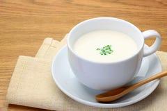 Sopa de Potage fotos de stock