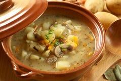 Sopa de Potatoe Imagens de Stock