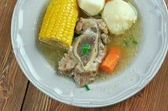 Sopa de Puchero Fotografia de Stock