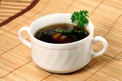 Sopa de seta Imagen de archivo libre de regalías