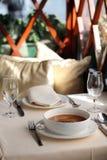 Sopa de seta Foto de archivo libre de regalías
