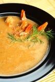 Sopa de Shimp foto de stock