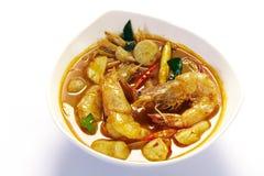 Sopa de Tom Yum imagem de stock