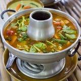 Sopa de Tom Yum fotos de stock royalty free