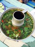 Sopa de Tom Yum fotos de stock