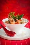 Sopa de Tom Yum imagem de stock royalty free