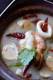 Sopa de Tom Yum foto de stock