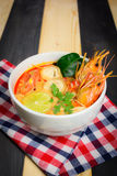 Sopa de Tom Yum foto de stock