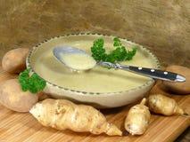 Sopa de Topinambur Imagem de Stock
