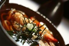 Sopa de Udon   Fotografía de archivo libre de regalías