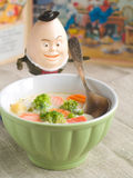 Sopa de vegetais Imagem de Stock