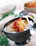 Sopa de vegetais Imagens de Stock Royalty Free