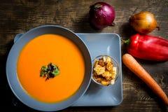 Sopa de vegetais Imagens de Stock