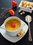 Sopa de verduras Imagen de archivo libre de regalías