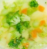 Sopa de verduras Fotos de archivo
