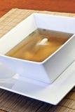Sopa de Wonton Foto de Stock