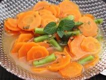 Sopa de zanahorias imagenes de archivo