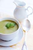 Sopa del bróculi Foto de archivo libre de regalías