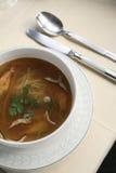 Sopa del camarón Fotografía de archivo