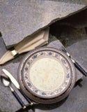 Sopa del ceam del pollo Imagen de archivo libre de regalías