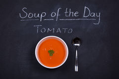 Sopa del día Imagenes de archivo