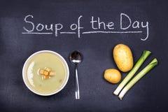 Sopa del día Fotografía de archivo libre de regalías