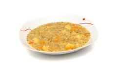Sopa del minestrone Foto de archivo libre de regalías
