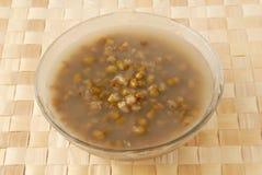 Sopa del postre de la haba de Mung imagen de archivo libre de regalías