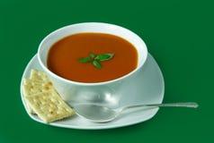 Sopa del tomate Foto de archivo