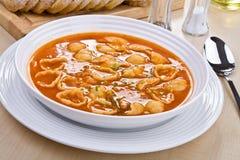 Sopa del tomate Imagen de archivo