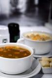Sopa deliciosa Imagenes de archivo